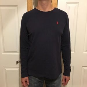 Men's Long Sleeve Tee Polo Ralph Lauren